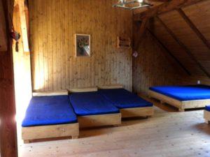 Velký pokoj nad stodolou