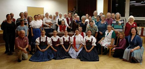Meeting with local Folk Dancers