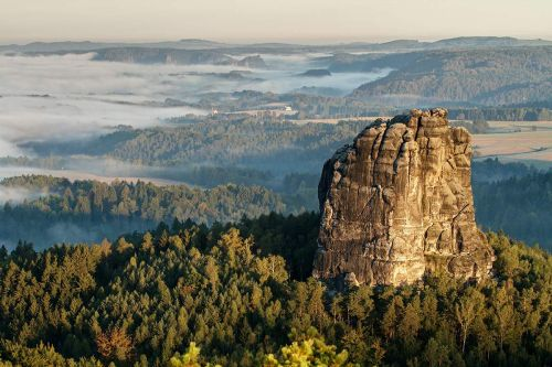 Bohemian and Saxon Switzerland