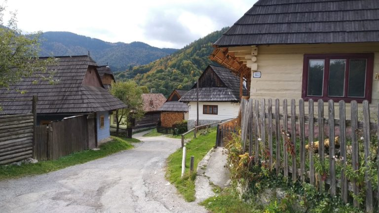 Vlkolínec Village