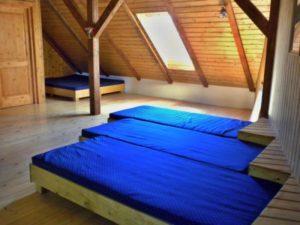 Ubytování ve stodole